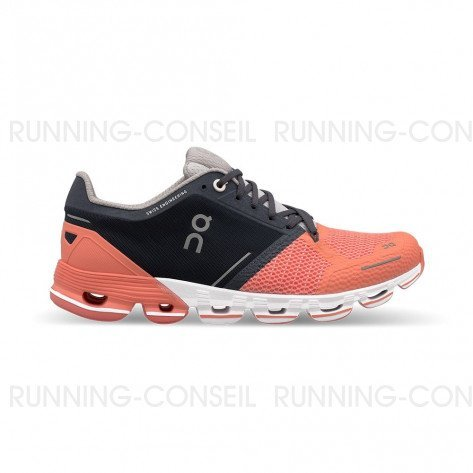 ON RUNNING Cloudflyer Femme Salmon | Ink | Collection Automne Hiver 2018