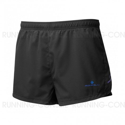 RONHILL Short RACER CARGO STRIDE Homme | Black/Azurite | Collection Printemps-Été 2019