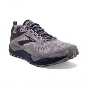BROOKS CASCADIA 14 Homme | Grey/Navy