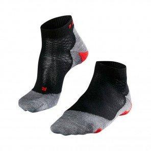 FALKE Chaussettes Running RU5 Lightweight Short Femme Noir / Gris