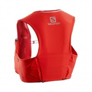 SALOMON - Sac / Gillet SENSE ULTRA 5 SET - racing red
