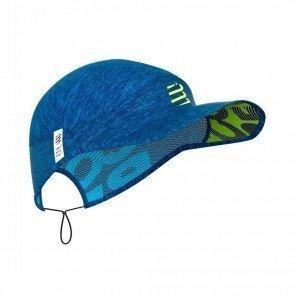COMPRESSPORT Casquette PRO RACING CAP | Bleu mélange