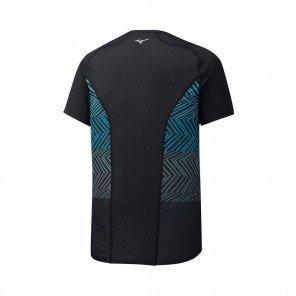 MIZUNO Tee-Shirt manches courtes AERO PREMIUM Homme | Black