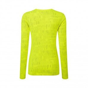 RONHILL Tee-shirt manches longues Momentum Afterlight Femme | Fluo yellow Reflect